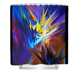 Soft Reality 978 Shower Curtain