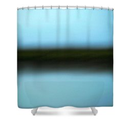 Shower Curtain featuring the photograph Soft Reflections by Marilyn Hunt