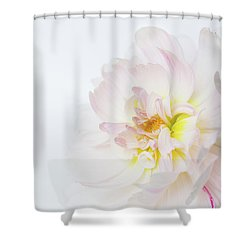 Shower Curtain featuring the photograph Soft Ruffles by Mary Jo Allen