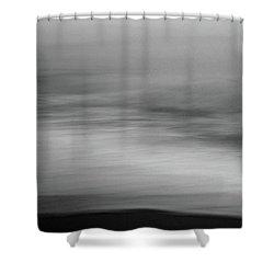 Soft Sea Shower Curtain