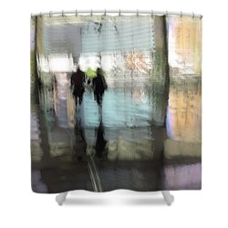 Soft Summer Afternoon Shower Curtain