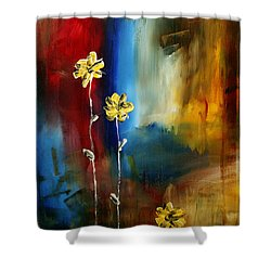 Soft Touch Shower Curtain by Megan Duncanson
