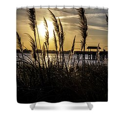 Shower Curtain featuring the photograph Soft Wind by Eric Christopher Jackson