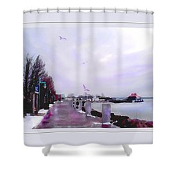 Shower Curtain featuring the photograph Soft Winter Day by Felipe Adan Lerma