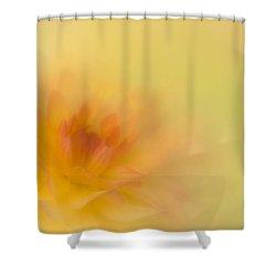 Soft Gold Shower Curtain