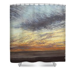 Softly, As I Leave You Shower Curtain by Valerie Travers