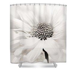 Shower Curtain featuring the photograph Soiree In Black N White by Darlene Kwiatkowski