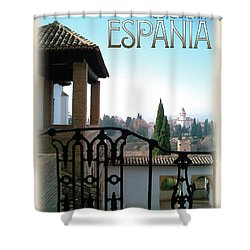 Sojourn In Espania Shower Curtain