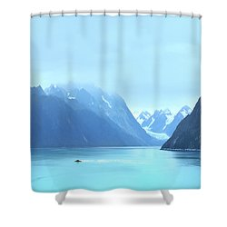 Sojourn Shower Curtain by John Poon