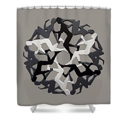Sol 6 Shower Curtain