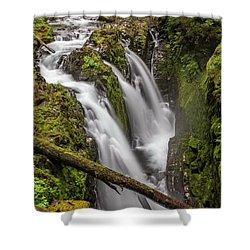 Sol Duc Falls Shower Curtain