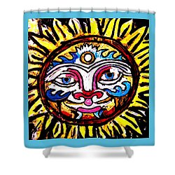 Sol Horizon Band Shower Curtain