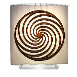 Sol In Motion Shower Curtain