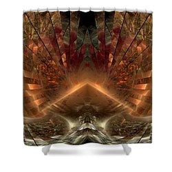 Sol Invictus Shower Curtain