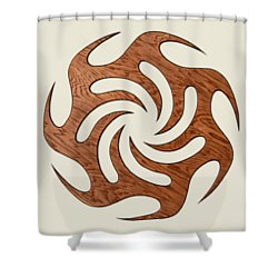 Sol Seven, Fire And Water Shower Curtain