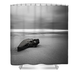 Solace I Shower Curtain