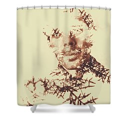 Solace Of Spirit Within Shower Curtain