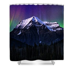 Solar Activity Shower Curtain by John Poon