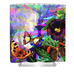 Solar Daydreamer Shower Curtain