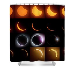 Solar Eclipse - August 21 2017 Shower Curtain
