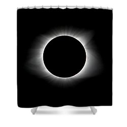 Solar Eclipse Ring Of Fire Shower Curtain