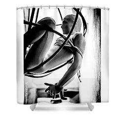 Shower Curtain featuring the photograph Solar Jail by Stwayne Keubrick