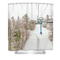 Solar Quad Shower Curtain