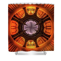 Shower Curtain featuring the photograph Solar Worship by Az Jackson