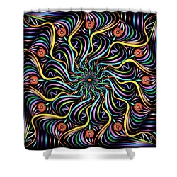 Solarium Shower Curtain