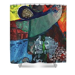 Soldier Family Sacrifice Shower Curtain