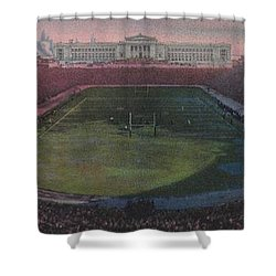 Soldier Field Shower Curtain by American School