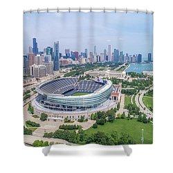 Soldier Field Shower Curtain