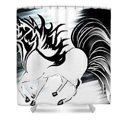 Soldier Horse Shower Curtain