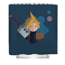 Shower Curtain featuring the digital art Soldier by Michael Myers