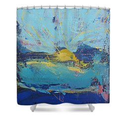 Soleil De Joie Shower Curtain