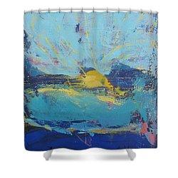 Soleil De Joie Shower Curtain