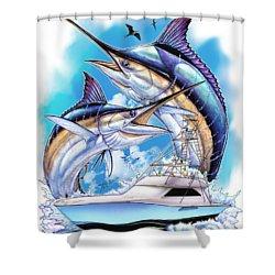 Solera Open Shower Curtain