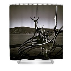 Solfar - Sun Voyager Shower Curtain