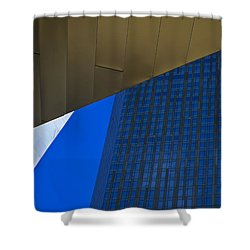 Solid Gold Shower Curtain by Skip Hunt