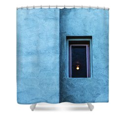 Solitary Shower Curtain