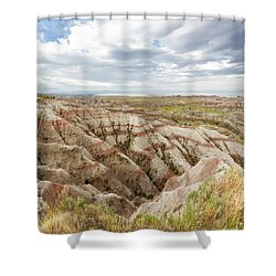 Solitary Road Shower Curtain