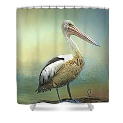 Solitary Shower Curtain by Wallaroo Images