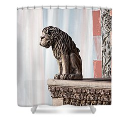 Solitary Watch Shower Curtain by Christopher Holmes