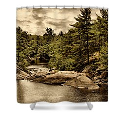 Solitary Wilderness Shower Curtain