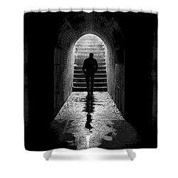 Solitude - Ascending To The Light Shower Curtain