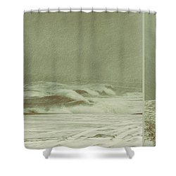 Solitude Is Deafening Shower Curtain