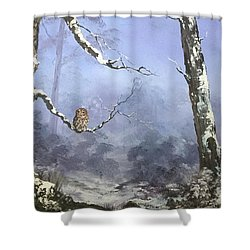 Solitude Shower Curtain by Jean Walker