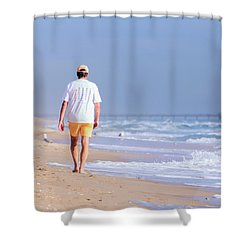 Solitude Shower Curtain by Keith Armstrong