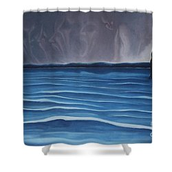 Solitude Shower Curtain by Michael  TMAD Finney