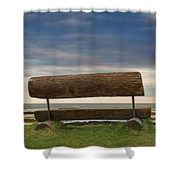 Shower Curtain featuring the photograph Solitude.. by Nina Stavlund